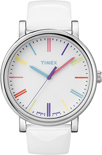 timex-originals-womens-t2n791-quartz-watch-with-white-dial-analogue-display-and-white-leather-strap