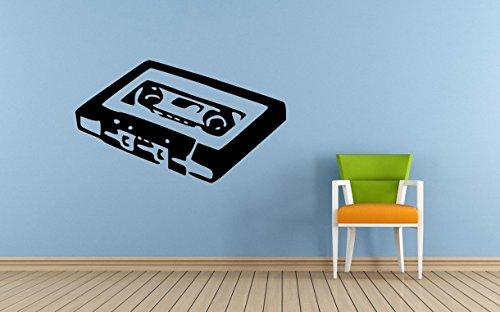 Simply Wallart Kassette Tape Art Wand Aufkleber, 500 x 700 mm (Kassette Tape Art)