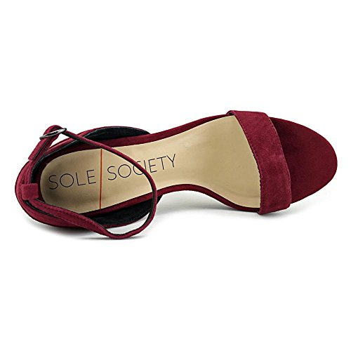 Sole Society Paden Daim Talons Burgundy
