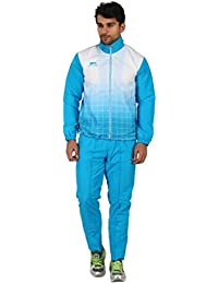 Shiv Naresh SNTS Micro Sublimatin Printed Polyester Track Suit, Men's (Blue)