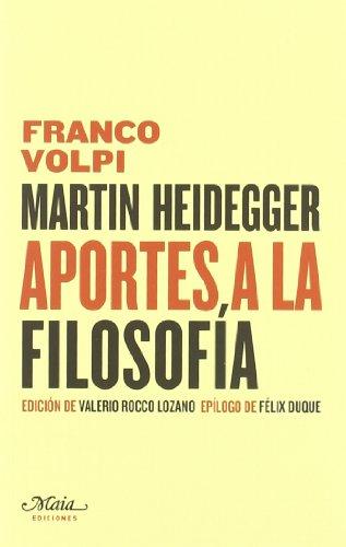 Martin Heidegger Aportes A La Fil (Claves para comprender la filosofía)