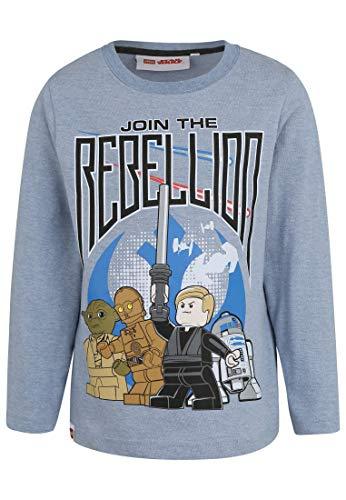 LEGO Star Wars Jungen T-Shirt 2171, Blau Bleu, 4 Jahre