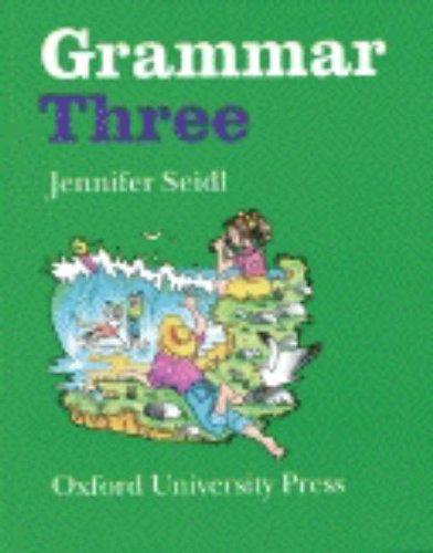 GRAMMAR THREE par Jennifer Seidl
