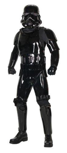 Für Storm Shadow Kostüm Erwachsene - Star Wars Shadow Stormtrooper Supreme original lizenziertes Premium Kostüm - Größe M/L