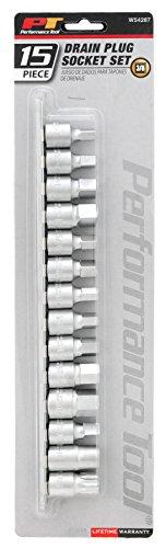 Performance Tool W54287 Automotive-Engine-Oil-Drain-Plugs -