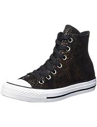 Converse Ctas Hi Brown/Black/White - Zapatillas Unisex adulto