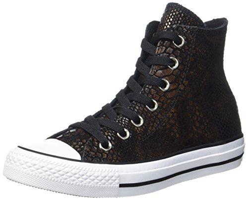 Converse Unisex-Erwachsene CTAS HI Brown/Black/White Hohe Sneaker, Mehrfarbig, 39 EU