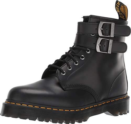 Dr. Martens Anfibio Nero Due FIBBIE - 36 Double Strap Ankle Boot