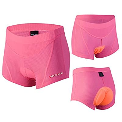 Women's Cycling Undershort 4D Padded Breathable Bicycle Undewear Short by Souke Sports