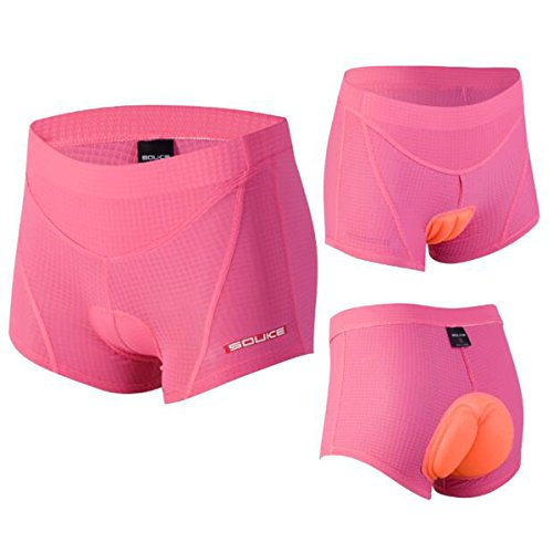 Women's Cycling Undershort 4D Padded Breathable Bicycle Undewear Short