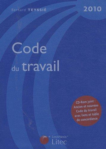 Code du travail (1Cédérom) (ancienne édition)