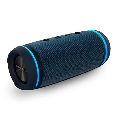 Oferta de Energy Sistem Urban Box 7 BassTube Altavoz portátil con Sonido 360º, Bluetooth y Tecnología True Wireless (30 W, Resistente al Agua) - Azul Marino
