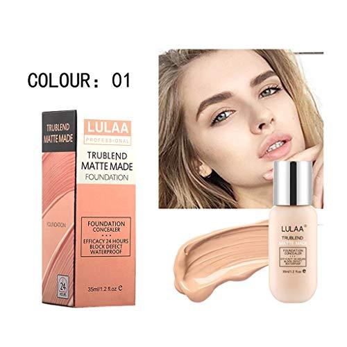 Foundation Cream, Flüssige Grundierung, Fältchen \u0026 Linien, BB Cream - Beste Getönte Feuchtigkeitscreme Fettige Haut