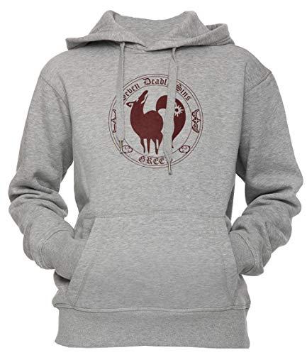 9cb16b7c Fox, The Greed Unisex Men's Women's Hoodie Sweatshirt Pullover Grey X-Large  ...