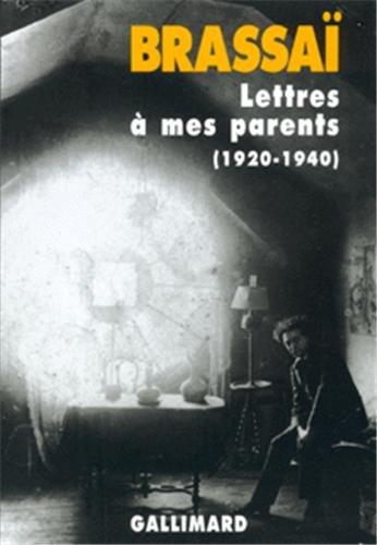 Lettres à mes parents : 1920-1940