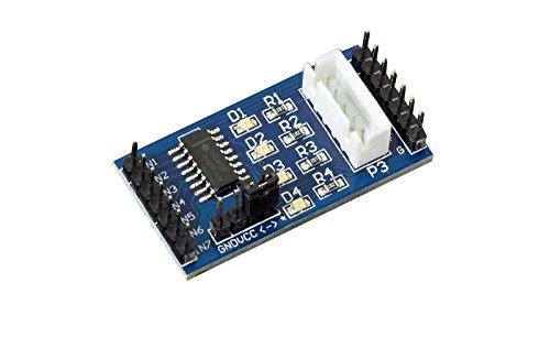Driver del motore passo passo Stepper Motor Driver ULN2003Blu con segnale LED per Arduino Raspberry Pi stampante 3d