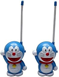 A M Enterprises Doreamon Walkie Talkie, Blue