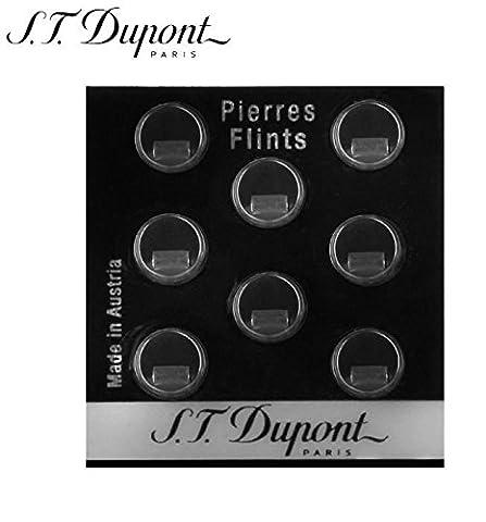 Lot de 8 Pierres de Briquet S.T Dupont - Accessoire Flint gris 600 - 200