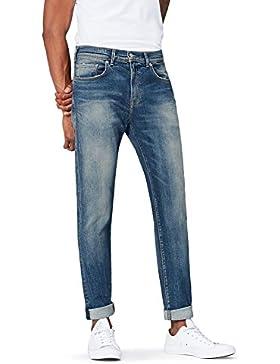 [Sponsorizzato]FIND Jeans Lavaggio Sbiadito Uomo