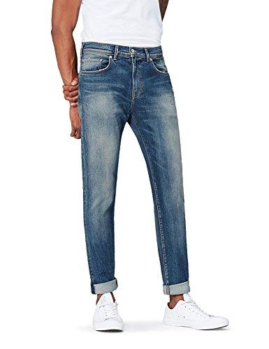 Find jeans lavaggio sbiadito uomo, blu (timor wash), w29/l30 (taglia produttore: 29)
