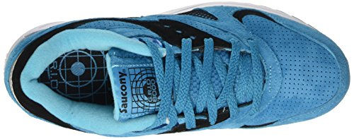 Saucony Grid 8000, Pompes à plateforme plate mixte adulte Bleu (Aqua Marine)