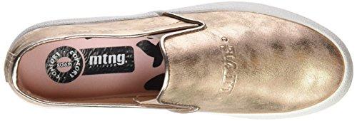 Mtng Rolling, Zapatillas Bajas Atléticas Para Mujer Beige (glisten Nude)