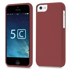 vau Snap Case Slider - matte red - zweigeteiltes Hard-Case für Apple iPhone 5C