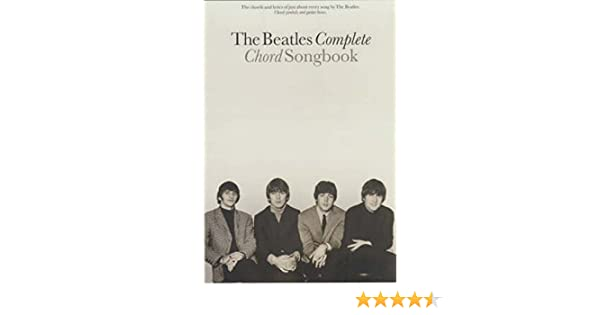 Amazon.fr - The Beatles Complete Chord Songbook - Beatles - Livres