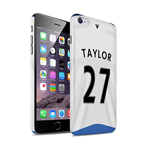Offiziell Newcastle United FC Hülle / Glanz Snap-On Case für Apple iPhone 6+/Plus 5.5 / Pack 29pcs Muster / NUFC Trikot Home 15/16 Kollektion Taylor