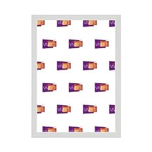 Cadre Photo Fin Couleur Blanc, A3 Dimension, 29.7 x 42 cm