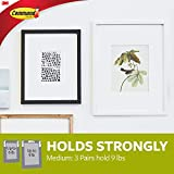 Command 17204-12ES  Medium Picture Hanging Strips Value Pack, White