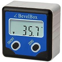 Medidor de ángulos biselado caja de medidor Digital transportador de ángulos