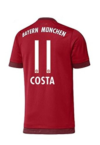 adidas FC Bayern Home Trikot Kinder 2016 - Costa 11, Größe:176