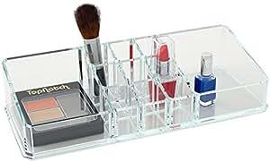 Organisateur de cosm tiques haute qualit boite de - Boite de rangement maquillage acrylique ...