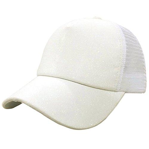 Beladla Gorra De BéIsbol Hombre Y Mujer Lentejuela Respirable Bordado  Baseball Cap Hat Outdoor Hat Hip 11eba7c6f1a