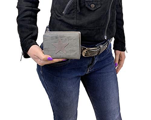 Damen Luxus Stern Geldbörse Geldbeutel - 8