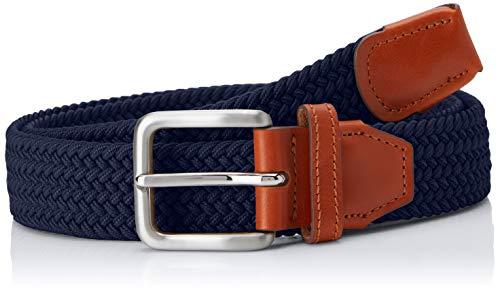 Jack & Jones NOS Herren Gürtel Jacspring Woven Belt Noos, Blau (Navy Blazer Navy Blazer), 80