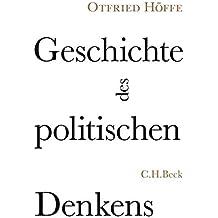 Geschichte des politischen Denkens: Zwölf Porträts und acht Miniaturen