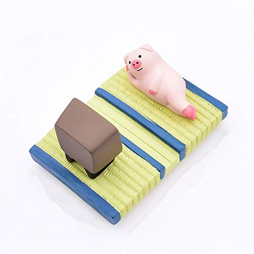 WSWSY Niedliche Handyhalterung für den Schreibtisch. Japanische Universal Tiny Handyhalterung für alle Handypuderschweine