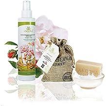 Septiembre regalo asequible: Jabón de leche de burra Bio 100g + Tónico facial BIO Rosa