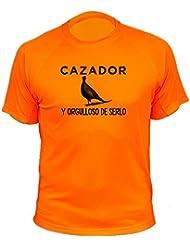 Camiseta de caza Cazador y orgulloso de serlo - Ideas regalos - Faisán