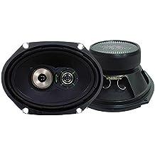 Lanzar VX683 VX 6 in.x 8 in Three-Way Speakers