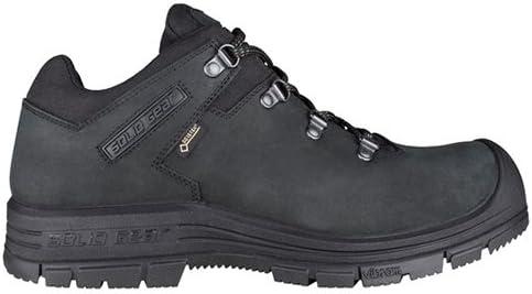 Solid Gear sg7500337 Zapatillas de seguridad Alpha Gtx, tamaño 4, Negro