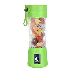 HomeFast Juicer Cup, Fruit Juice Mixer, Mini Portable Rechargeable, Juicing Mixing Crush Ice and Blender Mixer