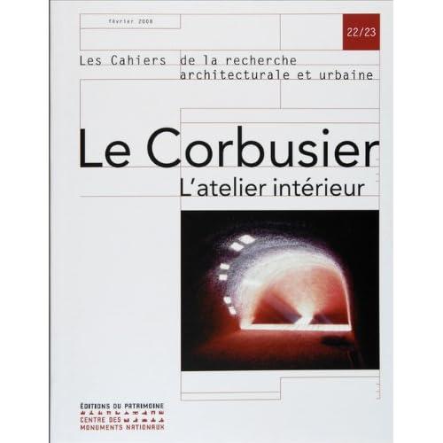 Le Corbusier l'atelier intérieur, n°22/23