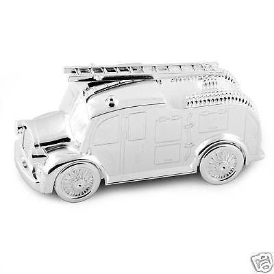 silver-feu-plaque-moteur-boite-argent-tirelires-nommer-cadeau-de-bapteme