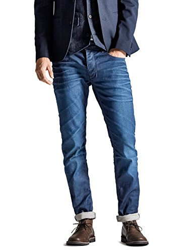 JACK & JONES PREMIUM Herren Skinny JeansHosen Tim Classic Jj 820 Lid Prm Noos Blau (Medium Blue Denim none)
