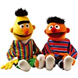 Living Puppets Handpuppe Puppe Set Ernie und Bert