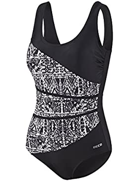 Beco Damen Badeanzug, C-Cup Beachwear Schwimmkleidung