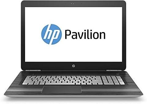 HP Pavilion (17-ab203ng) 43,9 cm (17,3 Zoll / FHD IPS) Notebook (Intel Core i7-7700HQ, 16 GB RAM, 512 GB SSD, NVIDIA GeForce GTX 1050, Windows 10 Home 64) in